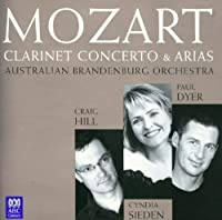 Clarinet Concertos & Arias by MOZART