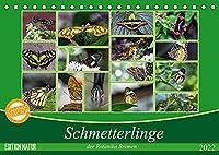 Schmetterlinge der Botanika Bremen (Tischkalender 2022 DIN A5 quer): Der Schmetterling, der von Blume zu Blume flattert, bleibt immer mein; den ich im Netz fange, verliere ich. (Monatskalender, 14 Seiten )