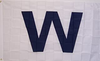 Rico Chicago Cubs White 'W' Flag