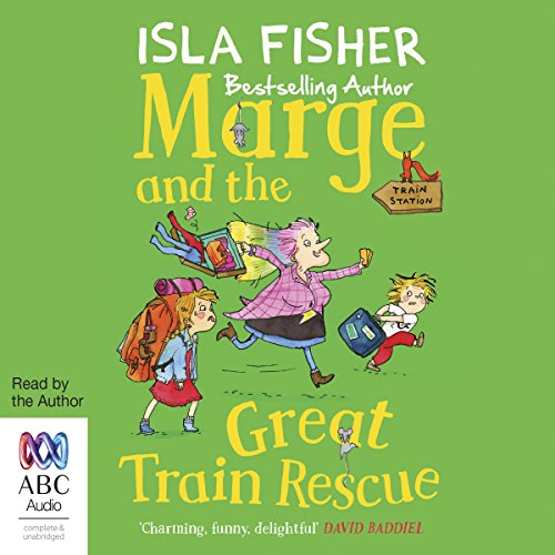 Marge and the Great Train Rescue audiobook cover art