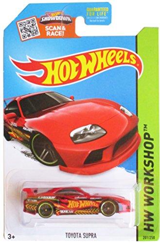 Hot Wheels 2015 HW Workshop Toyota Supra 201/250, Red
