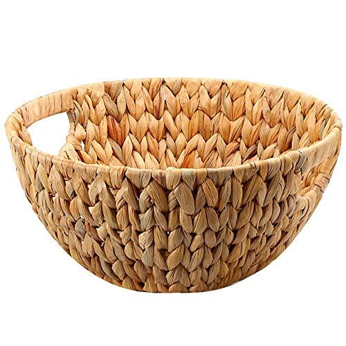 ECSWP Naturale della Paglia-Tessuto Disco Fruit Basket...