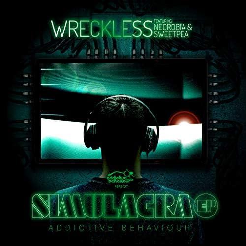 Wreckless, Necrobia & Sweetpea