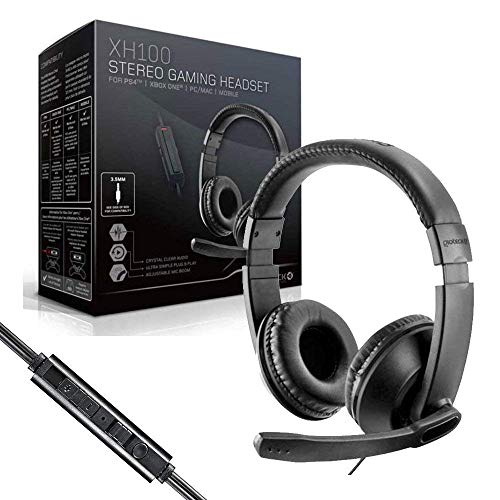 Gioteck XH100 Wired Stereo Headset (PS4/Xbox One/PC DVD) - [Edizione: Regno Unito]