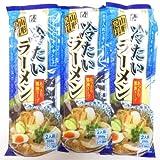 【9/20まで限定価格】みうら食品 そば屋の中華 冷たいラーメン(2食入・スープ付き)256g×10個
