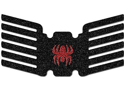 ArachniGRIP Sig P365 Black Grips w/Red Spider Logo