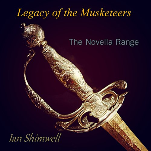 Legacy of the Musketeers audiobook cover art