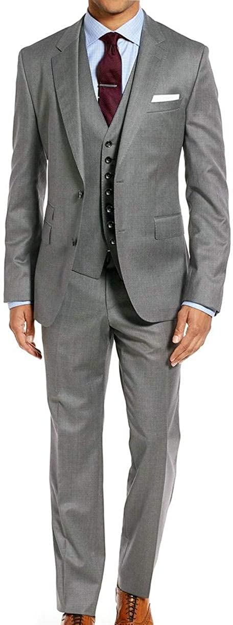 Falcone Mens Big & Tall 64 66 68 70 72 3 Pc Dress Suit