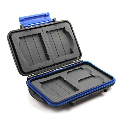 DealMux ABS Weerstand Gota Carteira Tipo Titularis 5 Slots van memória Case voor SD CF kaarten
