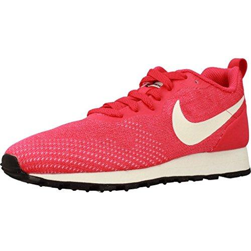 Nike Wmns Md Runner 2 Eng Mesh, Zapatillas de Running para Mujer, Rosa (Tropical Pink/Sail-N 600), 42.5