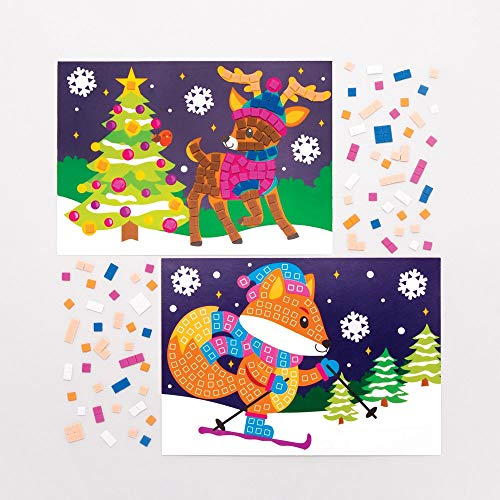 Baker Ross Kits Imágenes Mosaico Animales del bosque