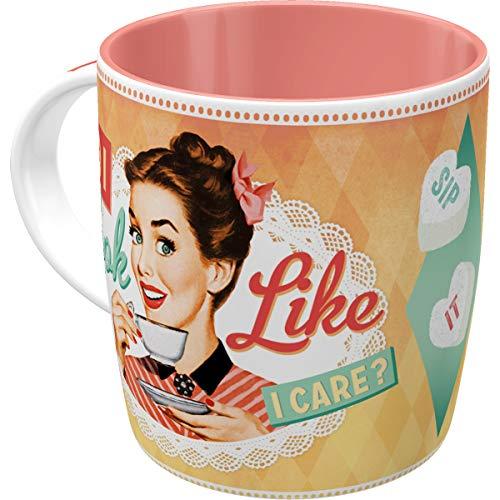 Nostalgic-Art Tasse, keramik, Say it 50's-Do I look like I care, 8.5 x 13 x 9 cm