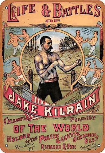 GenericBrands Life and Battles of Jake Kilrain Champion of The World Cartel...