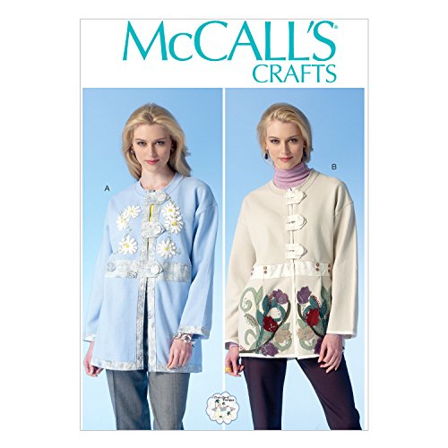 McCall Pattern Company M7070 Handmade Appliques, Trims and Sweatshirts Sewing Template, One Size