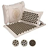 Natural healing from the inside, out: Imagine a healing tool that could naturally and effectively let you calm an overactive stress system, manage pain, let go, and simply surrender! Ajna Luxe mat and pillow set is a Doctor recommended acupressure ma...