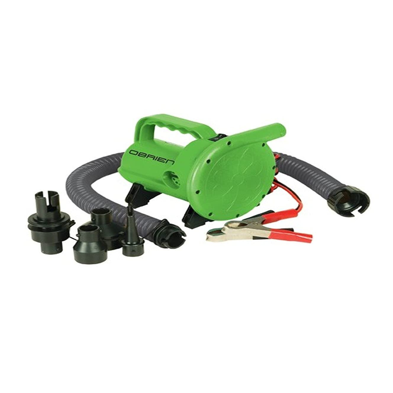 O'Brien High Pressure 12V Inflator (Green, 6X10-Inch)