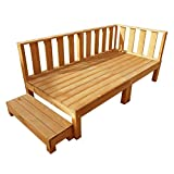igarden アイガーデン ウッドデッキ6点セット ブラウン アイガーデンオリジナル天然木製ウッドデッキ、ウッドデッキセット、木製デッキ、縁台