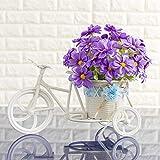mqlerry Flores Artificiales Boda Decoraciones flotantes de Flores de imitación, Adornos Florales, Adornos, Muebles de Interior, Muebles de Interior, D