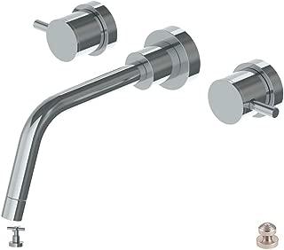 Watermark Loft Wall Mount Lavatory Faucet Satin Nickel