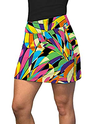 Loudmouth Golf Birds of a Feather Active Skorts XL