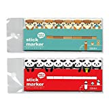 Mind Wave Sticky Note Markers (Set of 2) - Otter & Panda - for bookmarking labelling your planner notebook document & diary