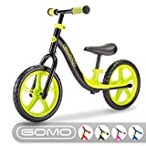 GOMO Balance Bike - Toddler Training Bike for 18 Months, 2, 3, 4 and 5 Year Old Kids - Ultra Cool...