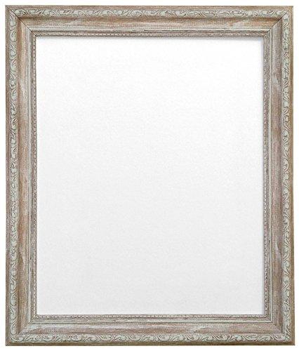 Frames by Post AP-3025 - Cornice per Foto Legno Anticato A3, Marrone, plastica, vetro, legno