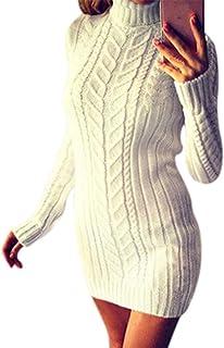 nouveau sélection New York vraie qualité Amazon.fr : pull long h&m - Robes / Femme : Vêtements