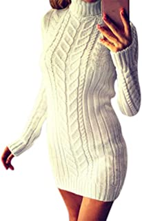 : robe pull tricot