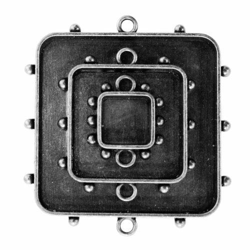 Spellbinders Media Mixage aangepaste vierkant One, zilver - MB1-002S
