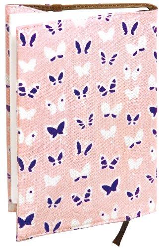 宮本 ブックカバー 『レトロ小紋てぬぐいのブックカバー』 30×16cm おはなさんぽ 07481 30×16cm