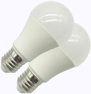 Lot de 2 Konyks Antalya A60WR, ampoule connectée E27, LED RGB WiFi, 810 lumens, 8.5W, 16 millions de couleurs, compatible ...