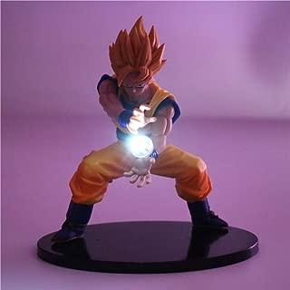 Dragon Ball Z Goku Super Saiyan Nuit Lumière Action Figure Led Lumière Light Dragon Ball Z Figurine Modèle Lampe De Table Jouets Son Goku, 3