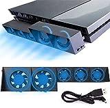 Linkhood Cooling Fan for PS4, USB...