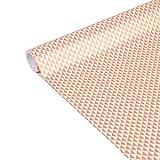 Clairefontaine 223869C - Rolle Geschenkpapier Excellia Tiny Rolls, 5m x 35 cm, 80g, 1 Rolle, Dreieck Rosa