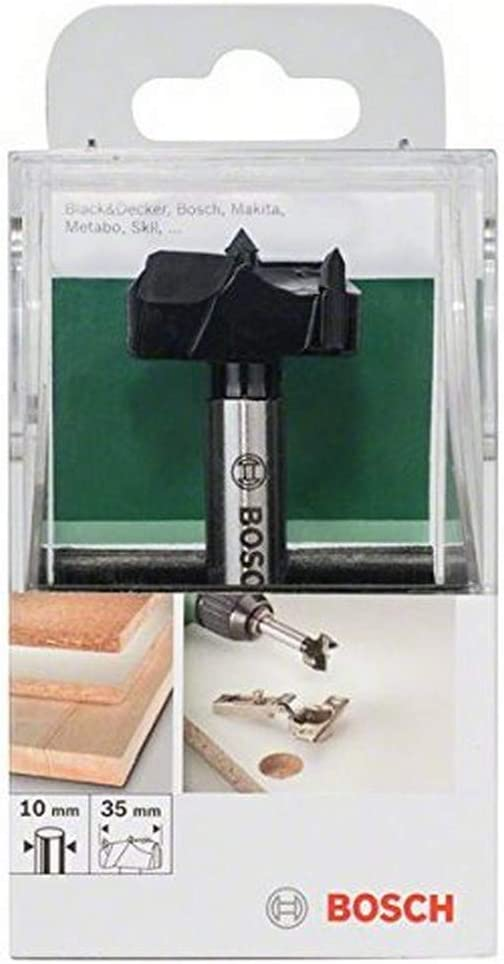 Bosch 2 609 255 283 - Broca artesanal de HM (metal duro), DIN 7483 G
