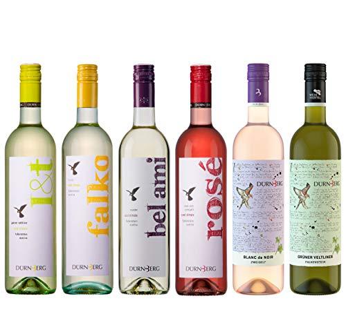 Dürnberg Probierpaket 2020 - Qualitäts Weißwein aus Österreich, trocken - perfekt als Wein Geschenk oder Probierprobe (6 x 0,75l)