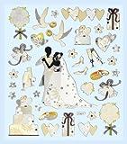 CREApop HOBBY-Design Stickers Hochzeit