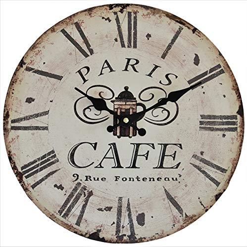 Perla pd design wandklok keukenklok design Cafe Paris ca. Ø 33 cm