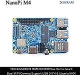 CPU: Modell: Rockchip RK3399; O Support: Android 7.1.2; Ubuntu18.04 (64 Bit); Lubuntu 16.04 (32 Bit); Frequenz: Cortex A72 (bis zu 2,0 GHz), Cortex A53 (bis zu 1,5 GHz) Speicher: 2 GB Dual Channel DDR3 1866; Lagerung: keine Onboard eMMC, hat aber ein...