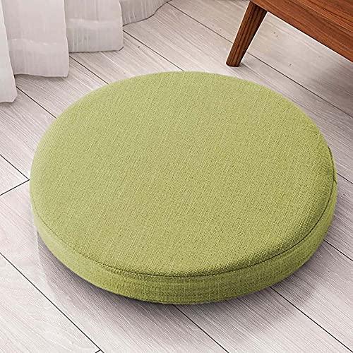 Yoole EU Cojines para silla de 45 x 45 cm, 50 x 50 cm, grosor de 5/8 cm, cojines para sillas de comedor, para interiores y exteriores, para patio, hogar, jardín, oficina, (50 x 50 x 8 cm), color verde