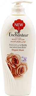 Enchanteur MositureSilk Aloe Vera & Olive Butter Elegant Musk Body Lotion 250ml