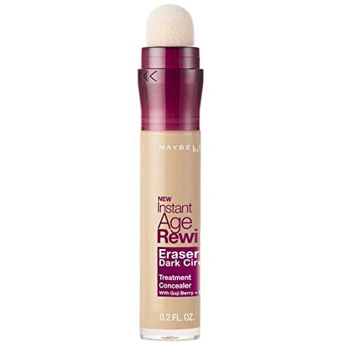 Maybelline Instant Age Rewind Eraser Dark Circles Treatment Concealer Makeup, Light, 0.2 fl. oz.