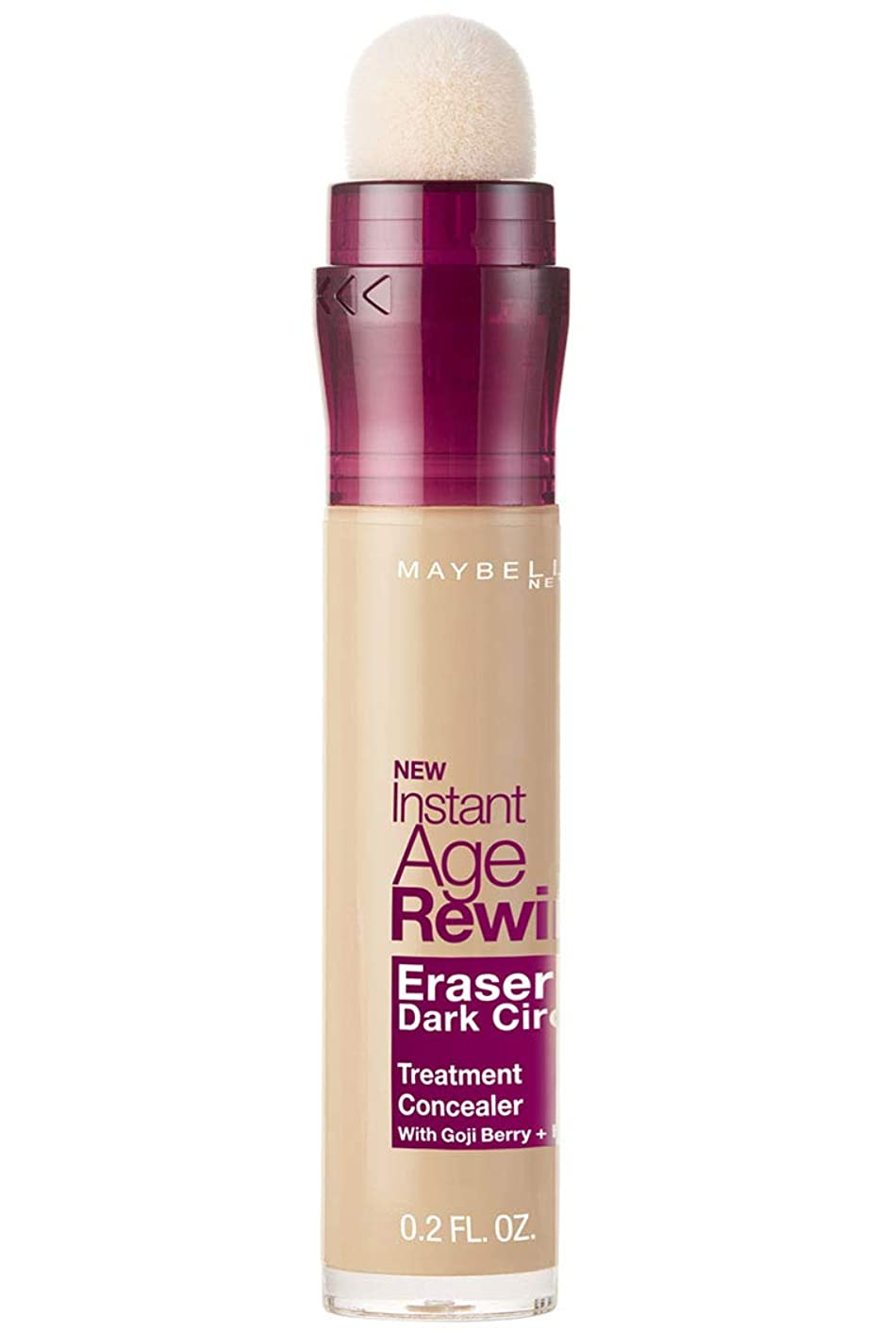 マーベルゴネリルドナーMAYBELLINE Instant Age Rewind Eraser Dark Circles + Treatment Light (並行輸入品)