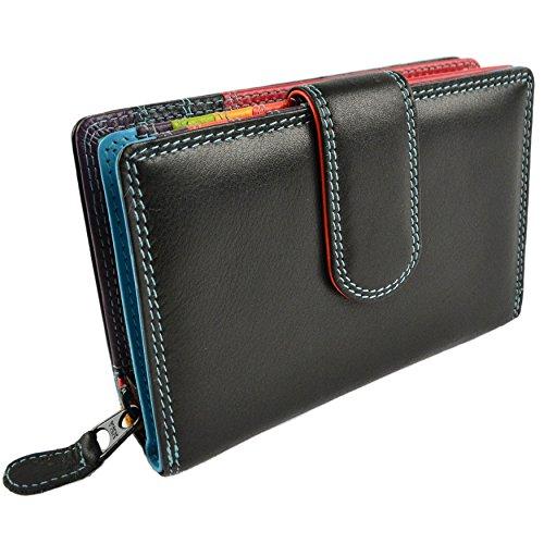 Golunski Damen Geldbörse mit Lederklappe Wird in einer Graffitti-Geschenkbox geliefert, Einheitsgröße.