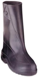 حذاء مطاط Tingley مقاس 25.4 سم 1400 مزود بزرار، أسود، مقاس متوسط