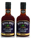 Natural Umber | Organic Apple Cider Vinegar with The Mother | 3 Star Great Taste | 500ml (Pack of 2)
