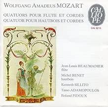 Mozart: Quatuors pour Flute et Cordes; Quatuor pour Hautbois et Cordes - Flute Quartets & Oboe Quartet