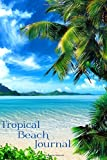 Tropical Beach Journal: Mini Travel Notebook