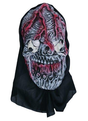Zombie veines Masque en caoutchouc Rose